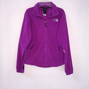 The North Face | Bright Plum Fleece Jacket